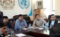 Baghlan civil society, government forge stronger ties at UN-backed event